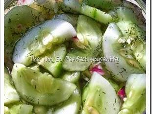 Cucumber Salad ~ Simple & Delicious Summer …